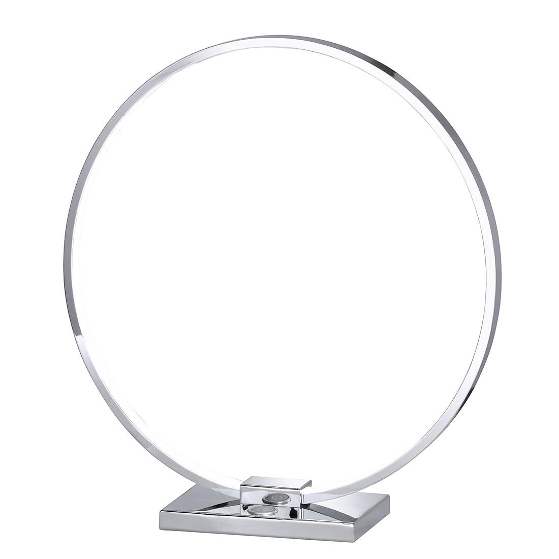 EEK A+, Tischleuchte STYLE – Metall – Silber – 1-flammig, Wofi günstig