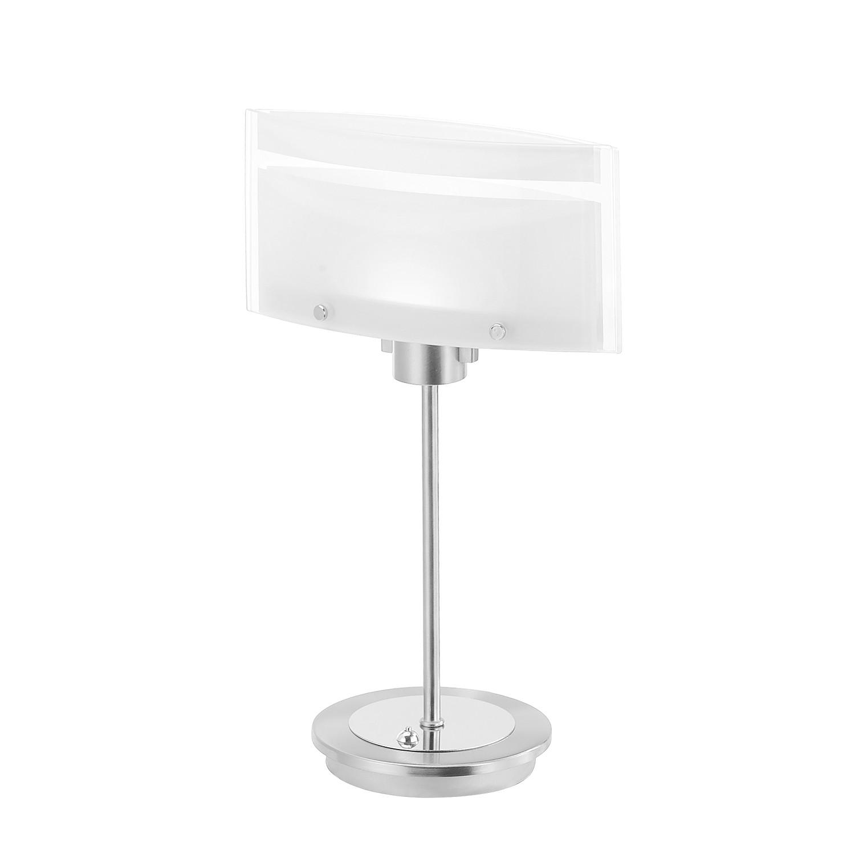 LED-Tischleuchte Tacin ● Eisen ● Silber- Paul Neuhaus A++