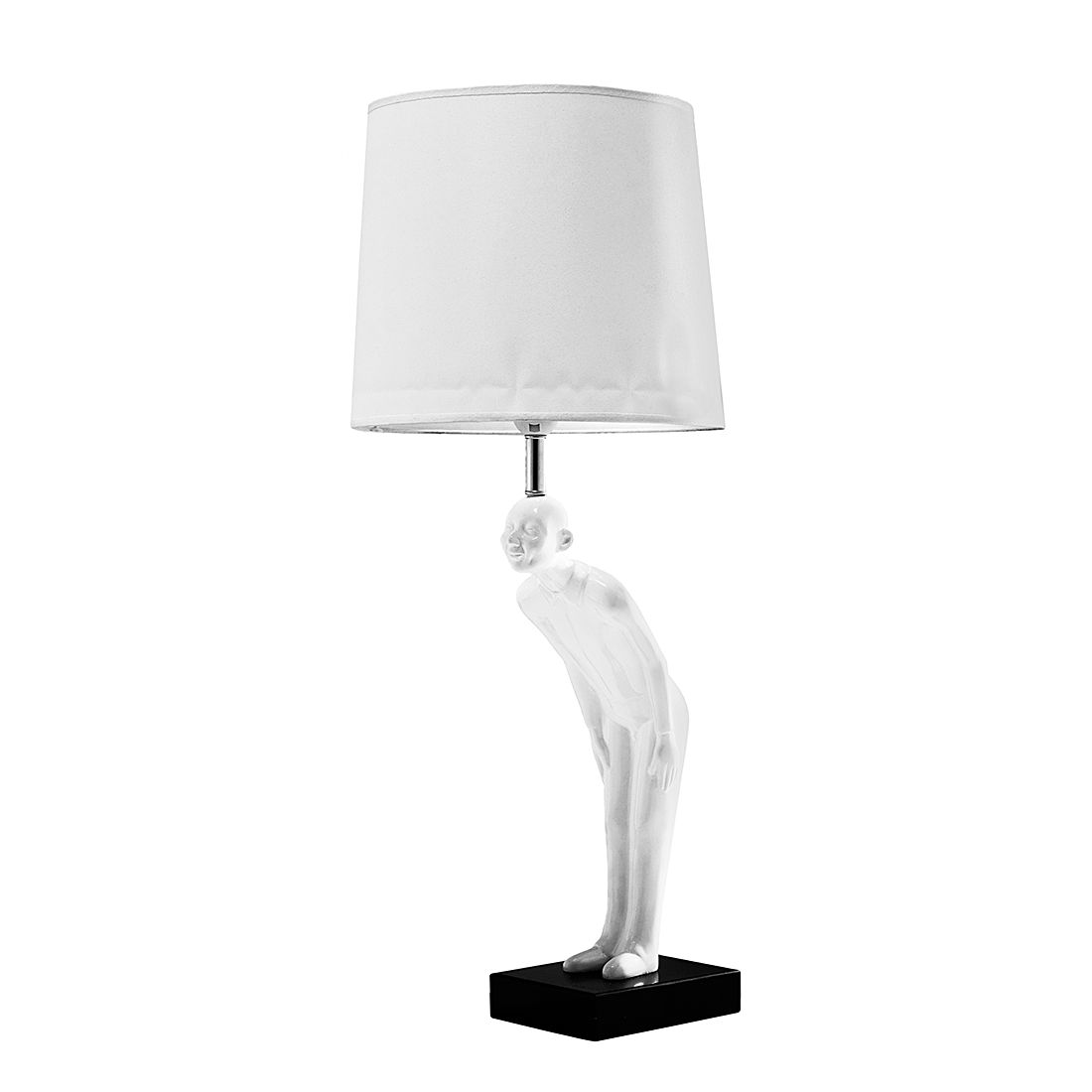 EEK A++, Tischleuchte TL Welcome Guest White – Weiß – 1-flammig, Kare Design kaufen