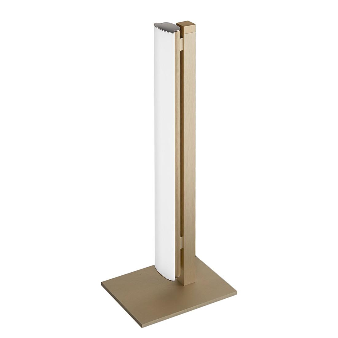 EEK A+, Tischleuchte VENTA – Metall/Kunststoff – Gold, Helestra jetzt kaufen