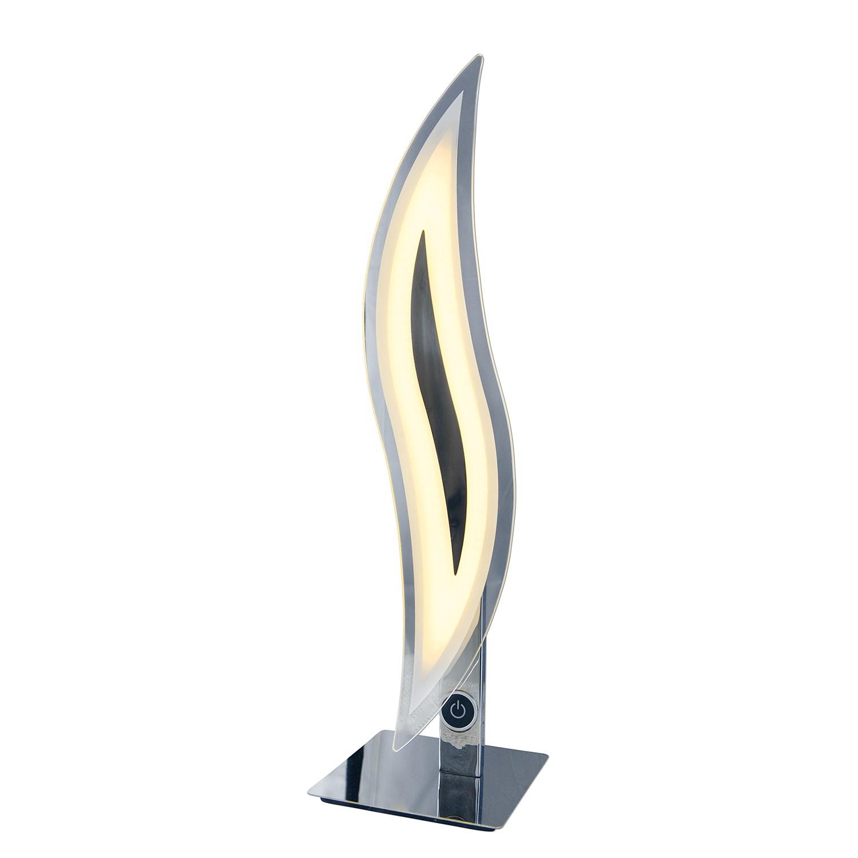 Tischleuchte Wave by Näve ● Metall/Glas ● Silber ● -flammig ● -flammig- Näve A+