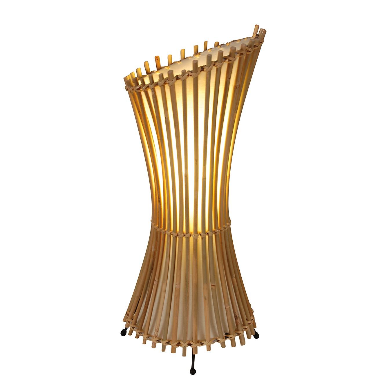 Tischleuchte Weave ● Geflecht/Stoff ● Beige ● 1-flammig- Näve A++