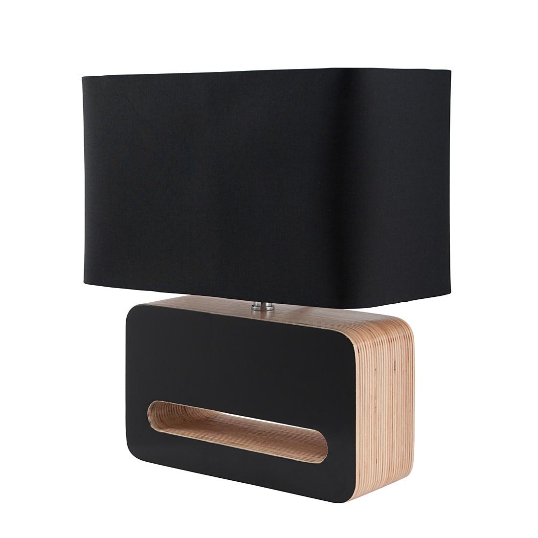 Tischleuchte WOOD ● Holz/Baumwolle ● 1-flammig- Zuiver A++