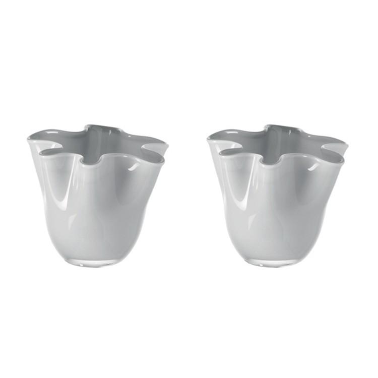Tischlicht Lia (2er-Set) – Weiß/Grau, Leonardo günstig kaufen