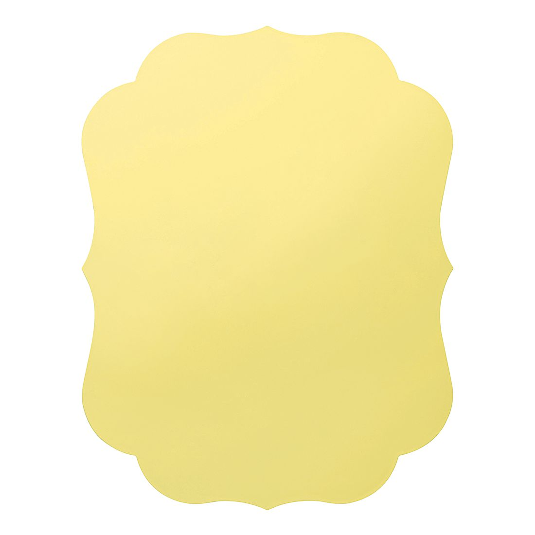 Tischset New Romantic (2er-Set) – Kunststoff – Gelb, BITOSSI HOME günstig bestellen