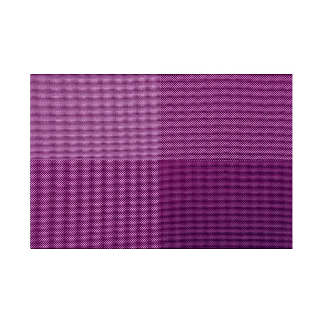 Tischsets Zarah (4er-Set) – lila, Contento günstig online kaufen
