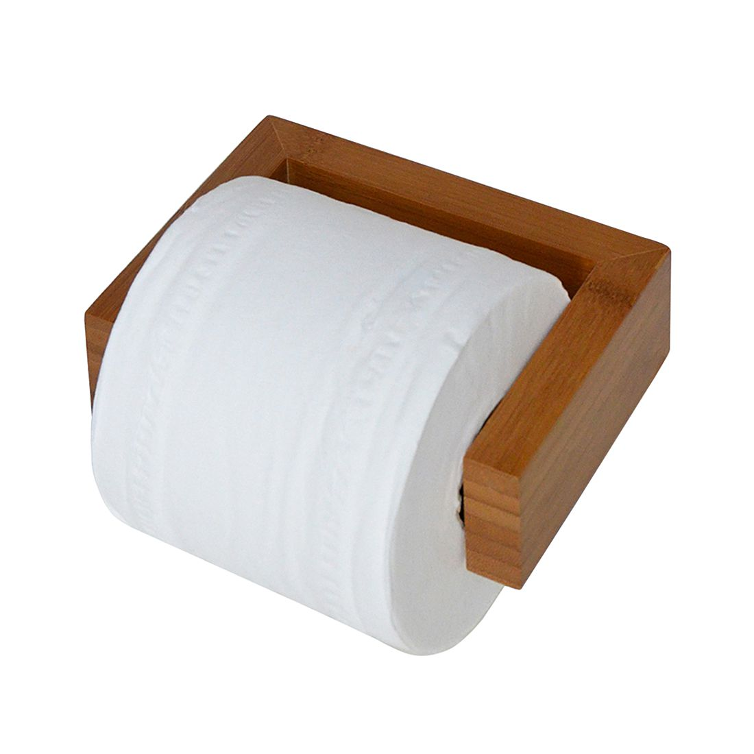Toilettenpapierhalter Arena - Bambus, Wireworks