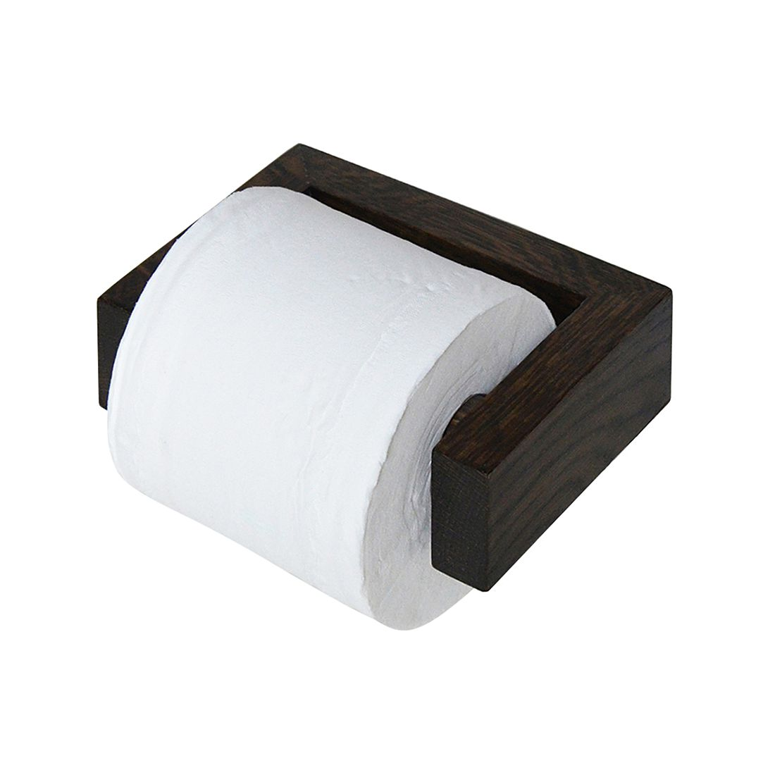 Toilettenpapierhalter Slimline  – Eiche Dunkel, Wireworks jetzt bestellen