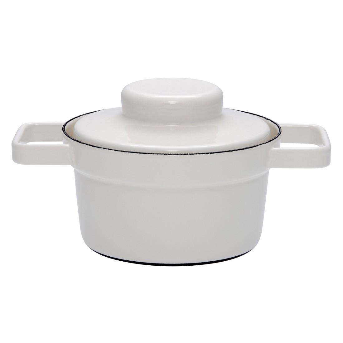 Topf mit Deckel Aromapots – Emaille – Grau – 24cm – 3,5 L, Riess online kaufen