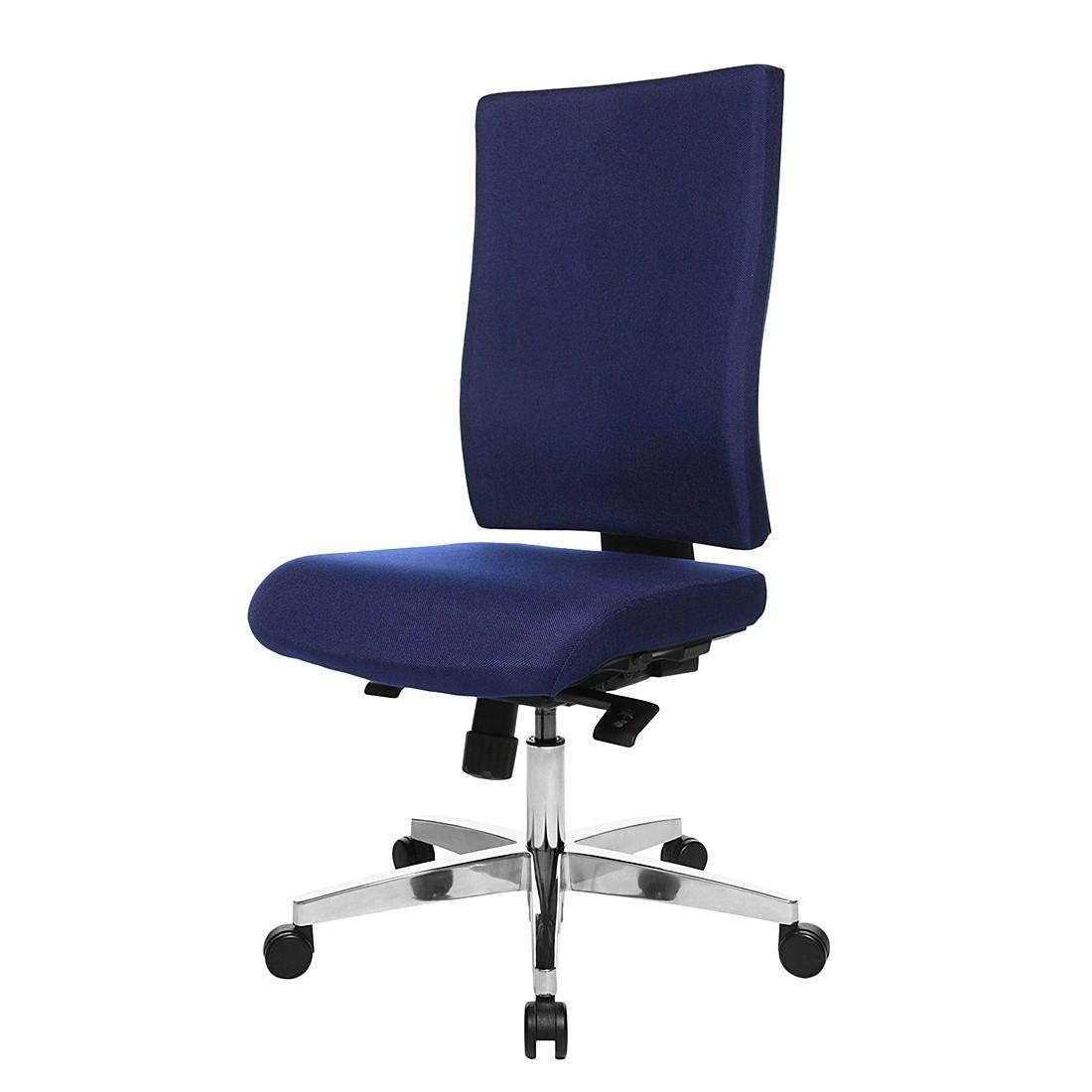 Bürodrehstuhl Lightstar 20 - Ohne Armlehnen - Blau, Topstar