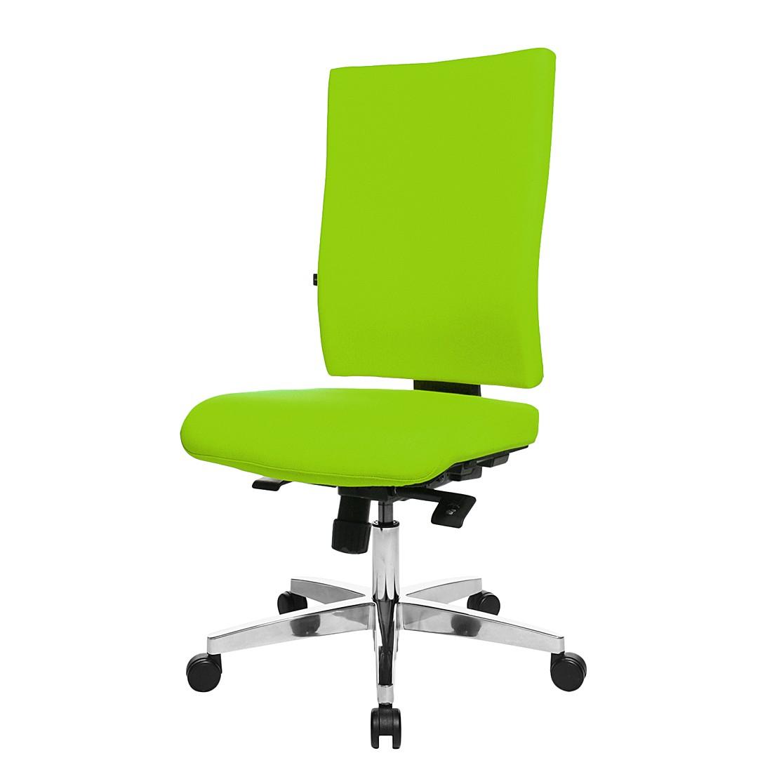 Bürodrehstuhl Lightstar 20 - Ohne Armlehnen - Grün, Topstar
