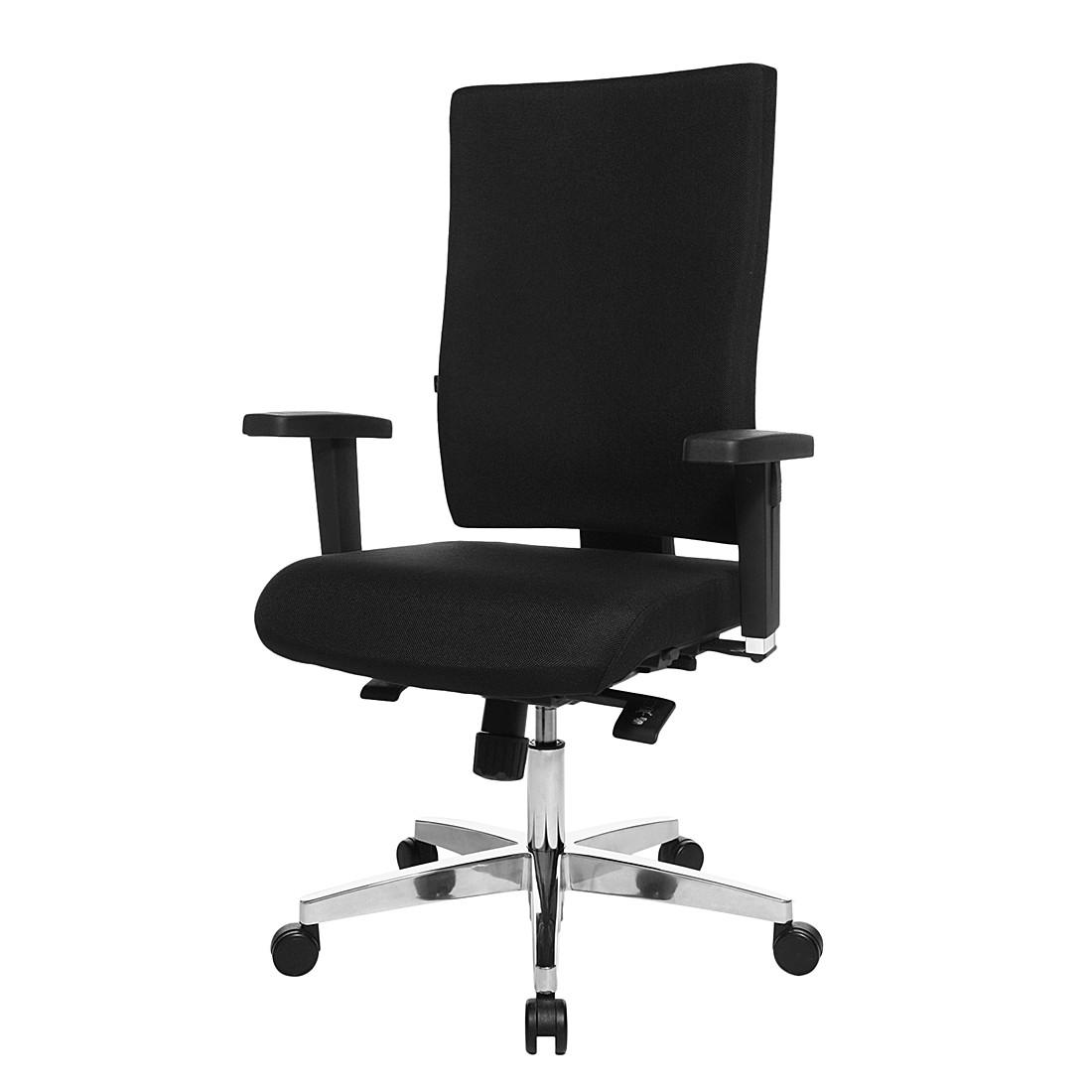 Bürodrehstuhl Lightstar 20 – Mit Armlehnen – Schwarz, Topstar günstig kaufen