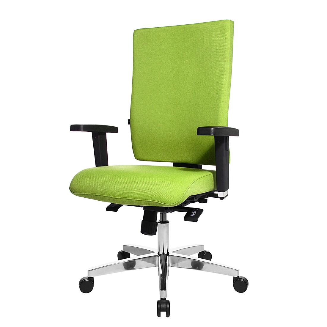 Bürodrehstuhl Lightstar 20 - Mit Armlehnen - Grün, Topstar