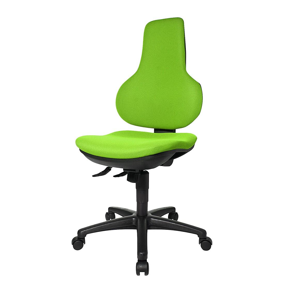 Bürodrehstuhl Ergo Point SY – Ohne Armlehnen – Grün, Topstar kaufen