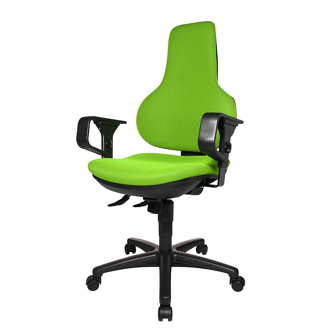Bürodrehstuhl Ergo Point SY – Mit Armlehnen – Grün, Topstar online kaufen