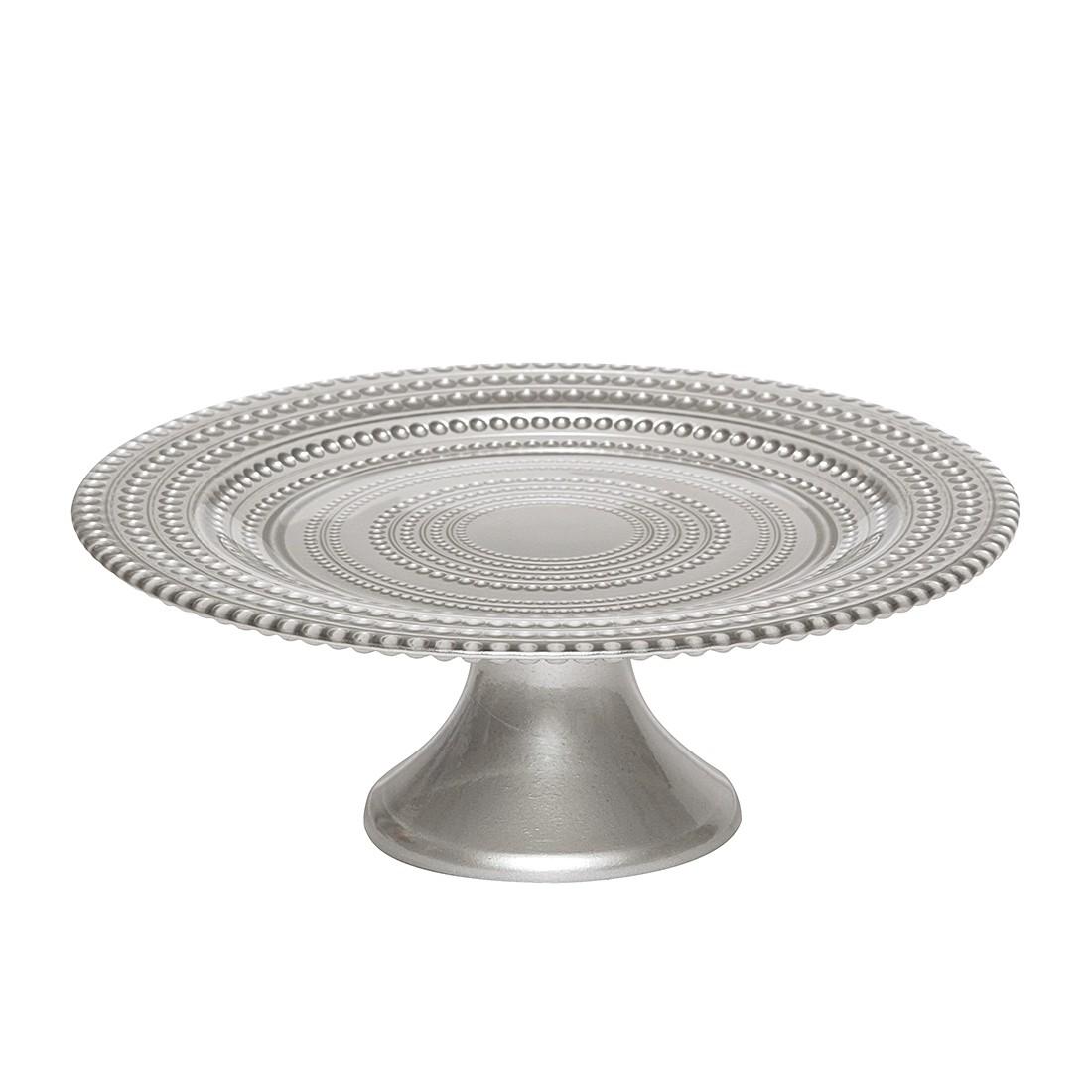 Tortenplatte Pois I – Glas – Silber, BITOSSI HOME günstig