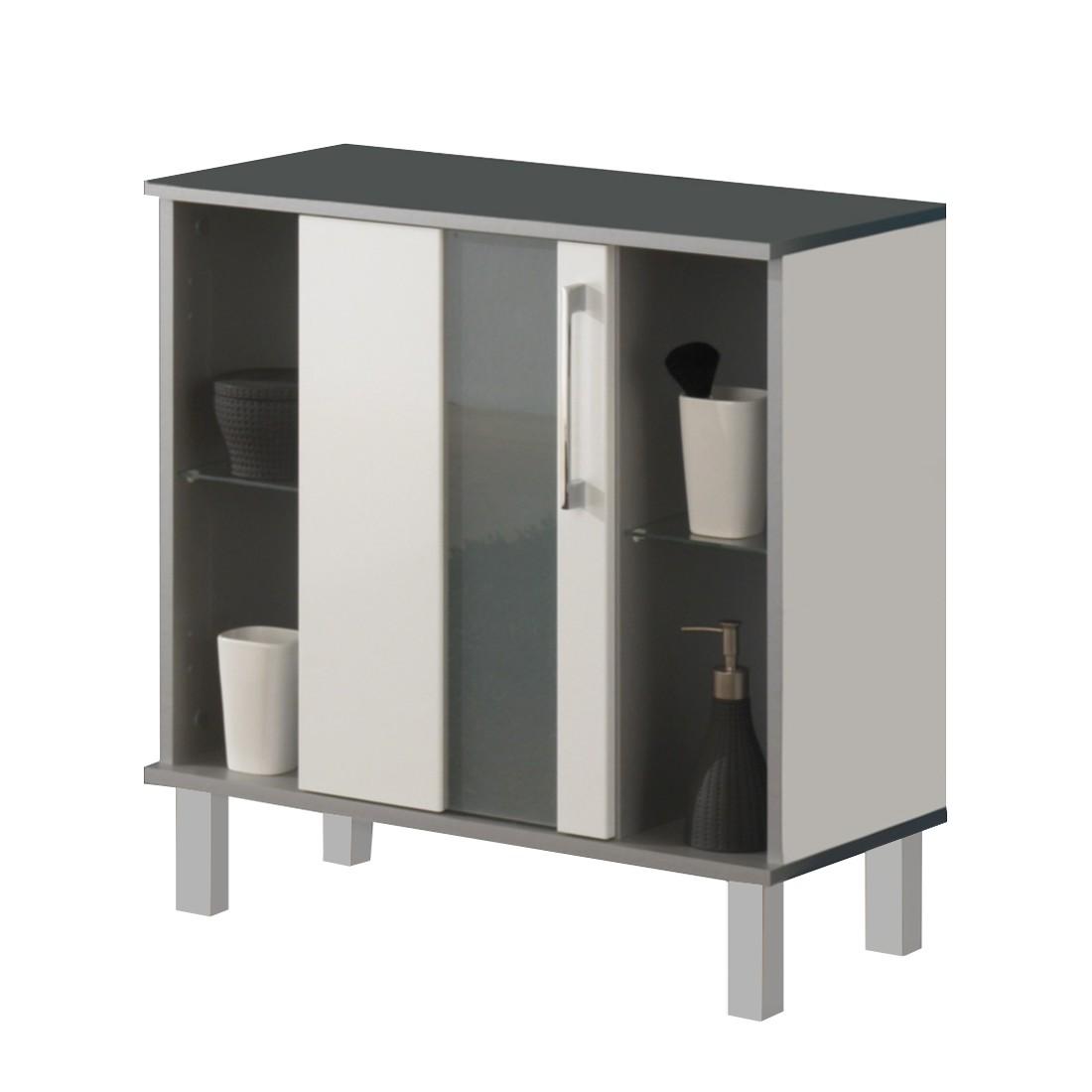 Badmöbel weiss stehend  Waschbeckenunterschrank Stehend | gispatcher.com