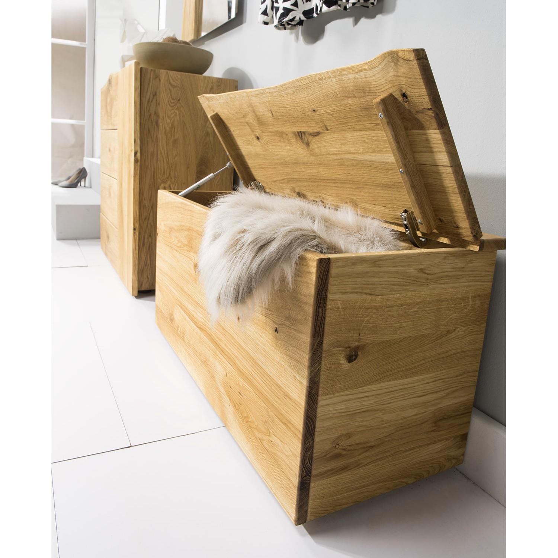 truhe woodkid eiche massiv sitztruhe sitzbank w schetruhe. Black Bedroom Furniture Sets. Home Design Ideas