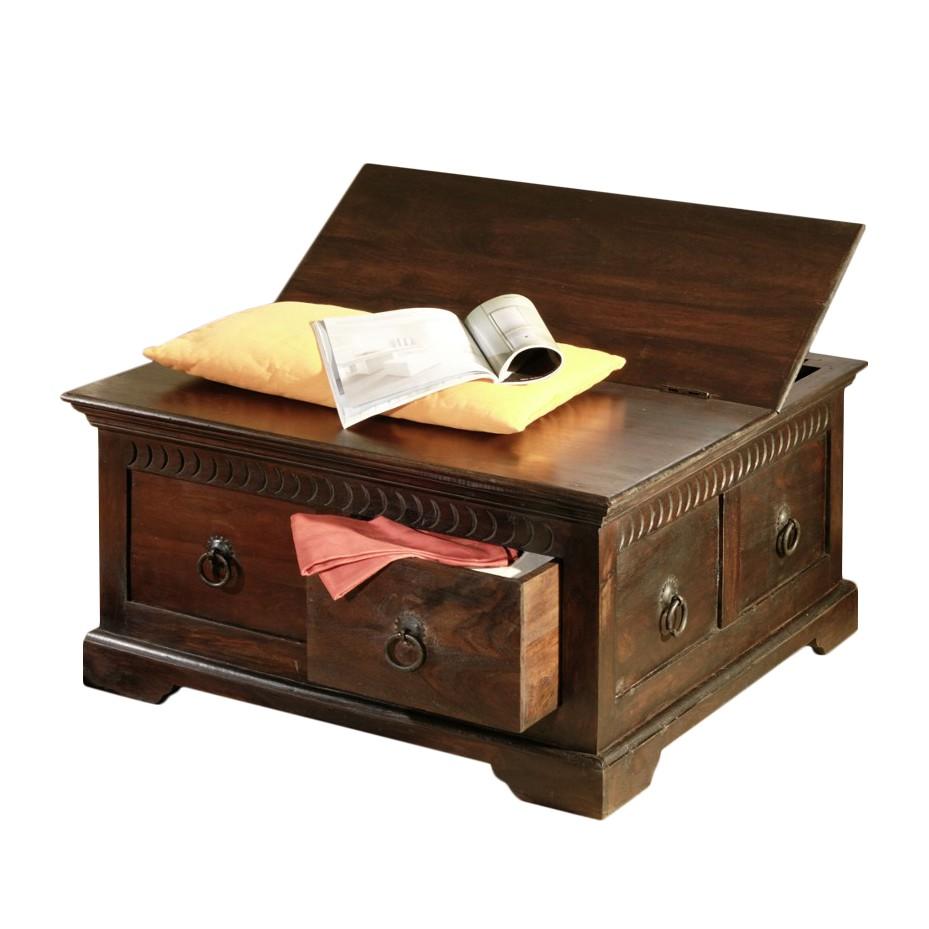 image kist salontafel bombay walnootkleurig massief sheeshamhout wolf m bel. Black Bedroom Furniture Sets. Home Design Ideas
