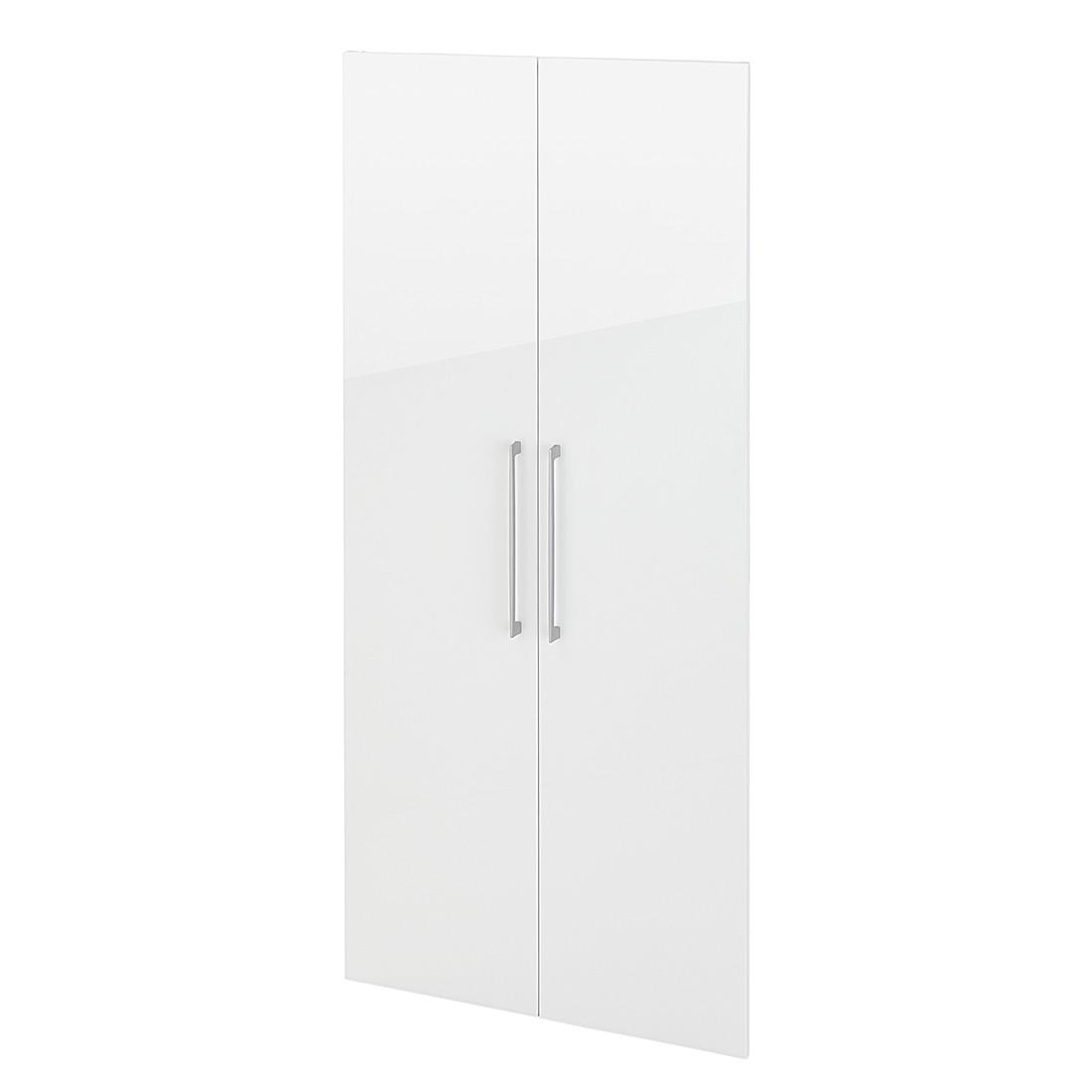 Türenpaar Zeta (176 cm hoch) – Weiß, home24office günstig kaufen