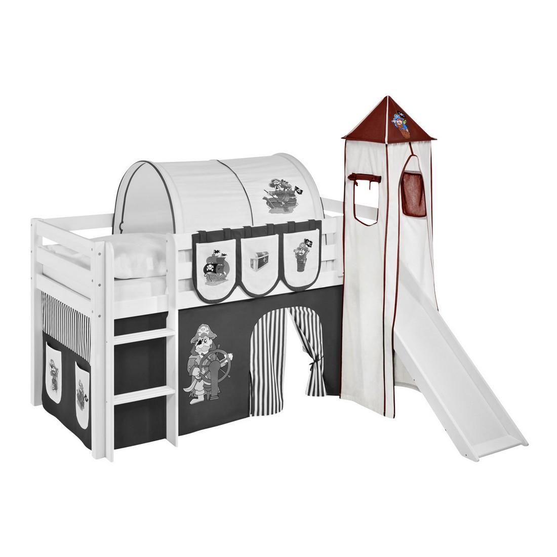 Turm für Hochbett Spielbett – Pirat-Braun, Lilokids günstig bestellen