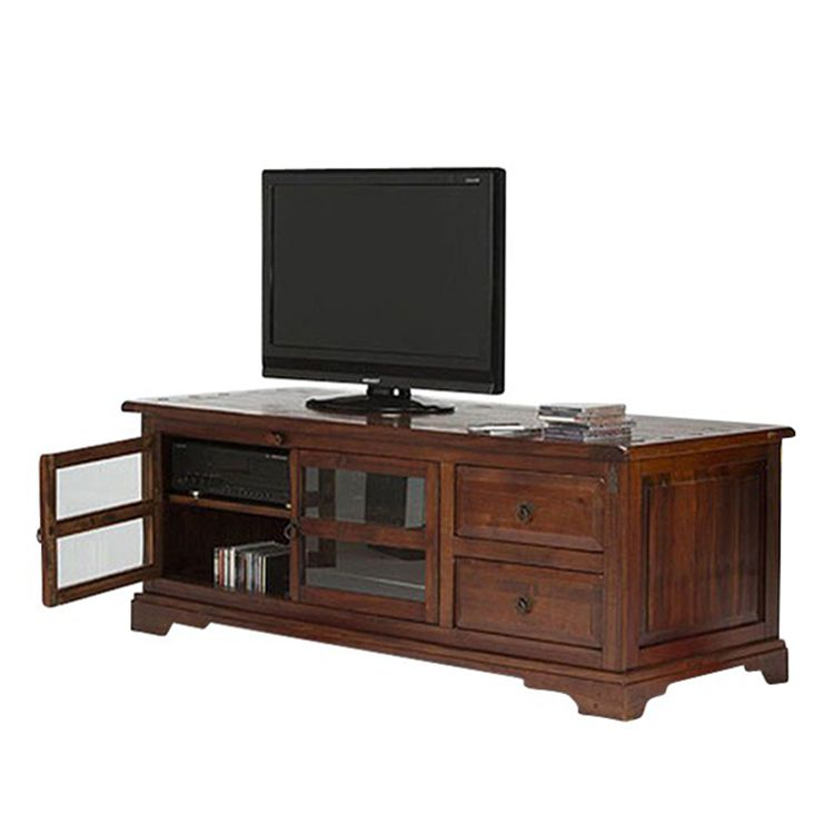 tv bank capri pinie massiv gebeizt lackiert kolonialbraun. Black Bedroom Furniture Sets. Home Design Ideas