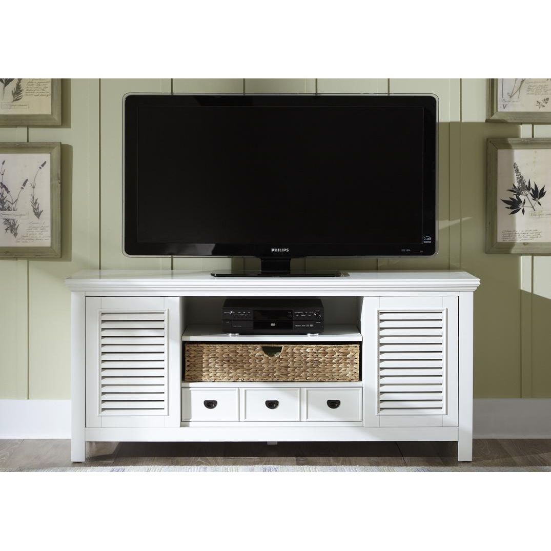 tv bank meadows pappel teilmassiv wei landhaus. Black Bedroom Furniture Sets. Home Design Ideas