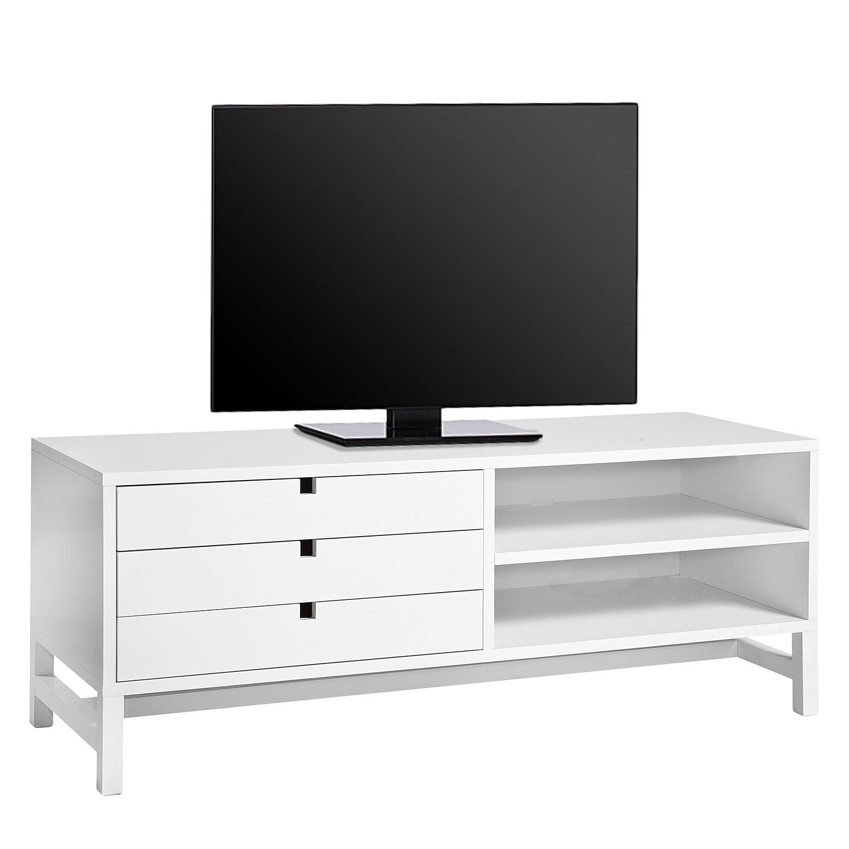 Meuble tv longueur 120 blanc longueur 120 blanc trouvez for Banc tv grande longueur