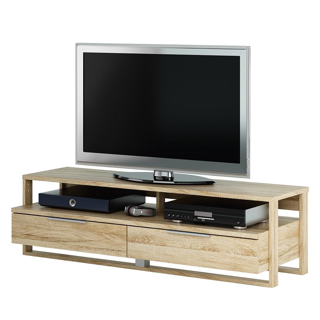 tv bank eiche tv bank mediaschrank sideboard regal lowboard kommode lowboard tv bank eiche. Black Bedroom Furniture Sets. Home Design Ideas