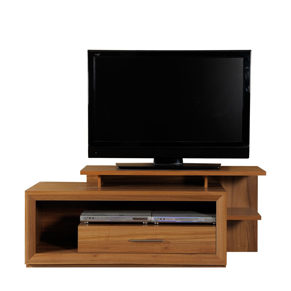 tv board mamba nussbaum dekor kabeldurchlass schrank. Black Bedroom Furniture Sets. Home Design Ideas