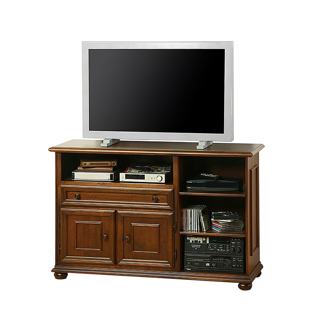 tv kommode arabella i tulpenbaum teilmassiv antik. Black Bedroom Furniture Sets. Home Design Ideas
