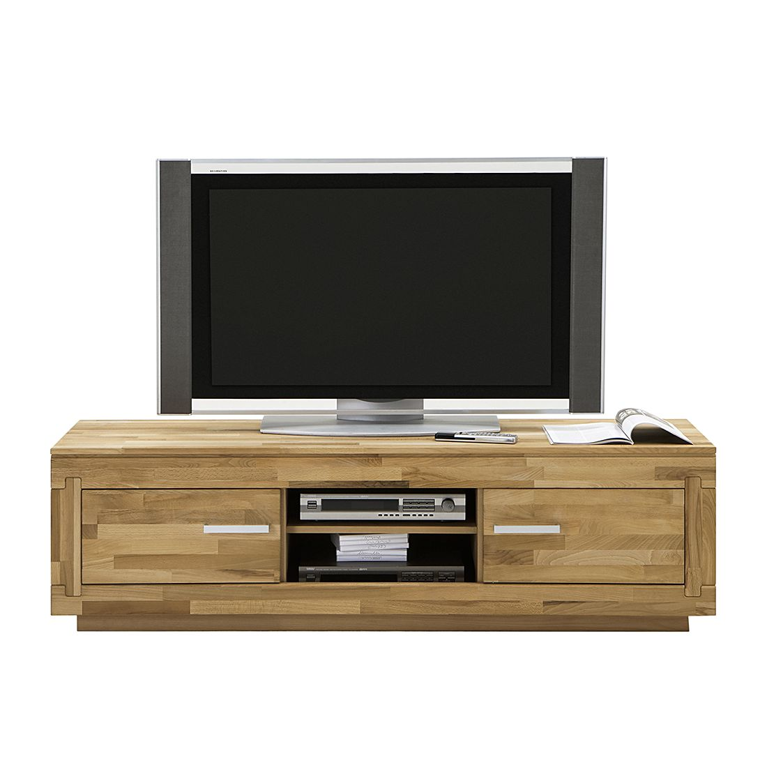 tv schrank kernbuche inspirierendes design. Black Bedroom Furniture Sets. Home Design Ideas