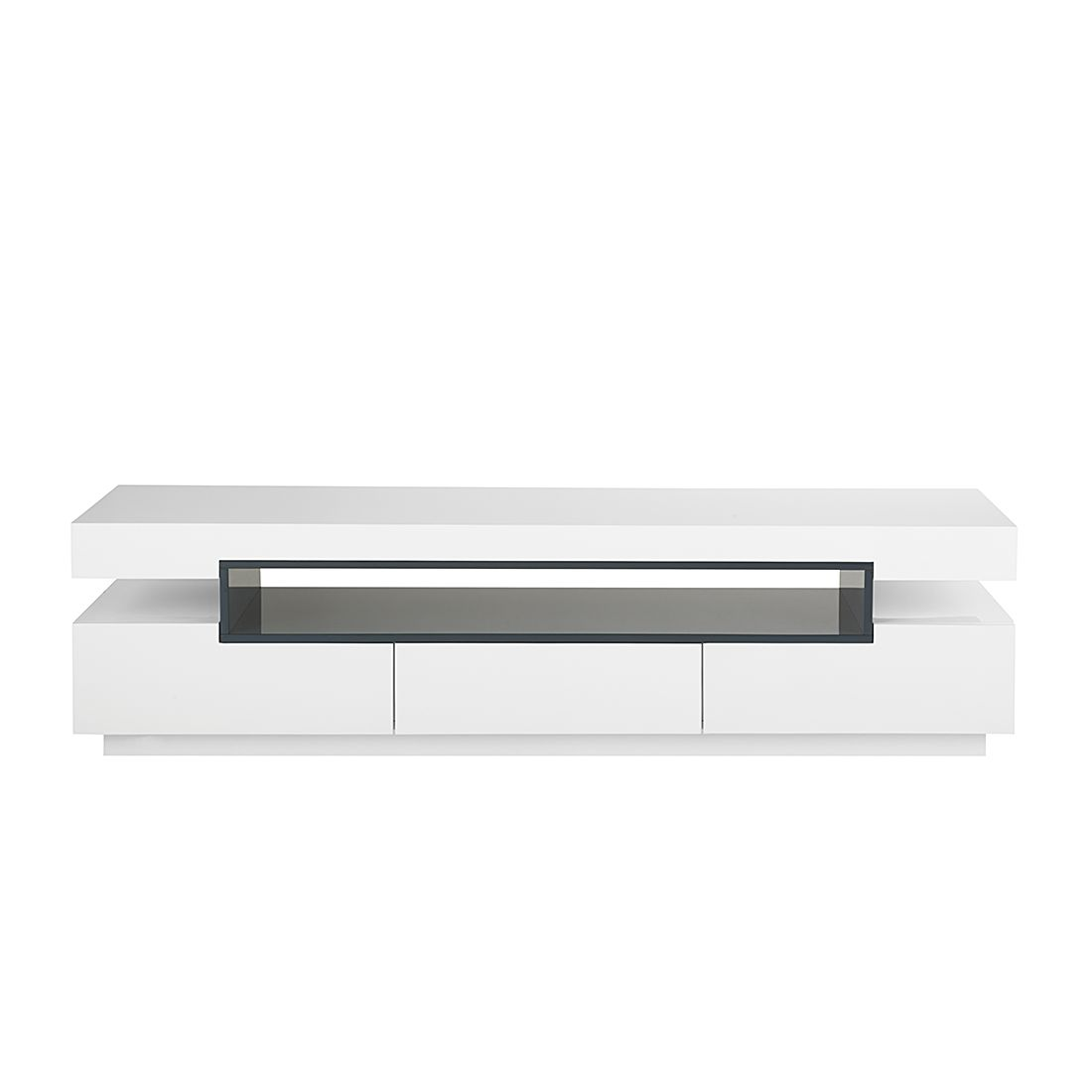 pin lucido tv board hochglanz weiss lowboard hochglanz. Black Bedroom Furniture Sets. Home Design Ideas