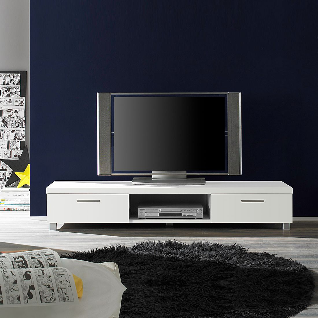 tv lowboard base wei dekor. Black Bedroom Furniture Sets. Home Design Ideas