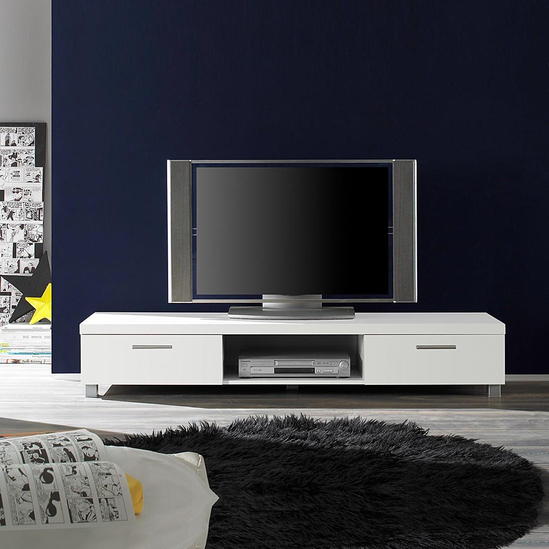 TV- Lowboard  Base - Weiß Dekor
