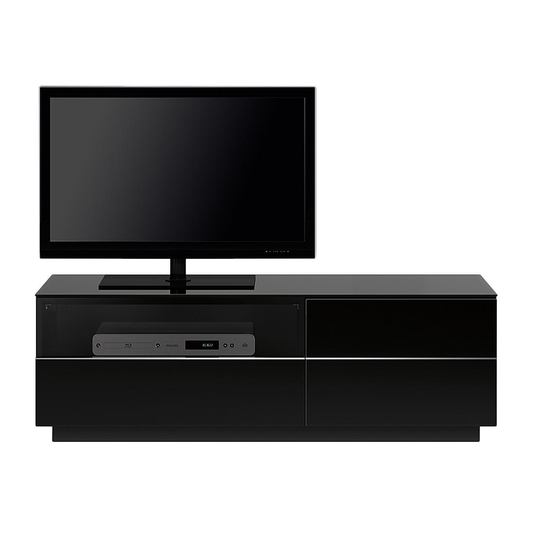 TV-Lowboard TL6122 - Hochglanz Schwarz