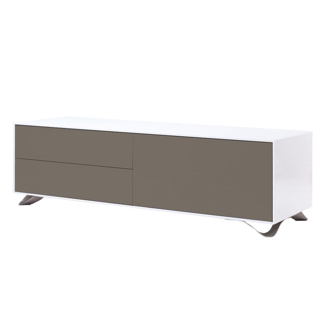 lowboard in grau hochglanz preis vergleich 2016. Black Bedroom Furniture Sets. Home Design Ideas