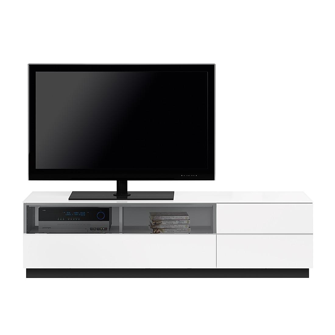 TV-Lowboard TL6152 - Hochglanz Weiß