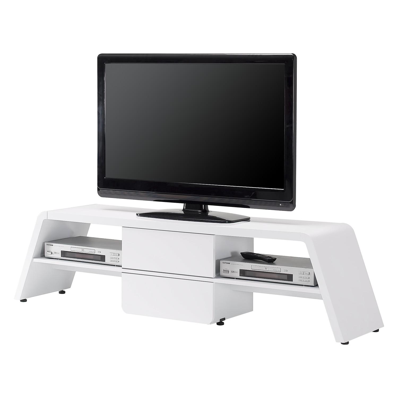 TV-Lowboard CU-Culture M 141 - Hochglanz Weiß, Jahnke