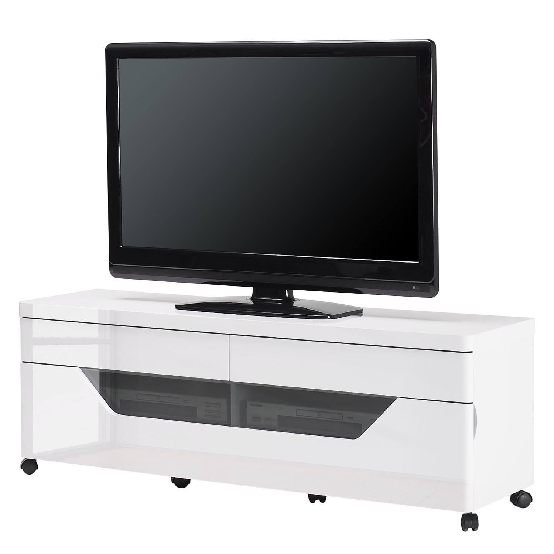 Tv-meubel CU-Libre M 141 - Hoogglans wit, Jahnke