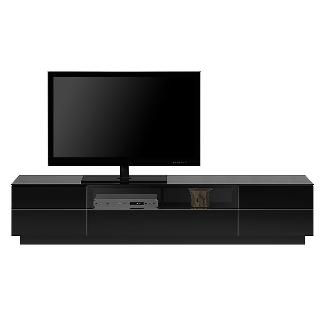 tv lowboard tl6202 hochglanz schwarz. Black Bedroom Furniture Sets. Home Design Ideas
