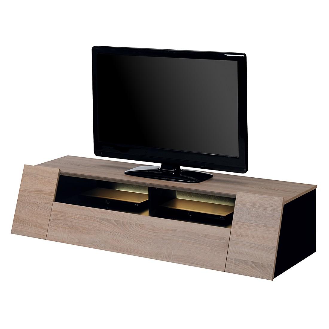 TV-Lowboard Cuuba Luxor 4 Game - Eiche Sägerau