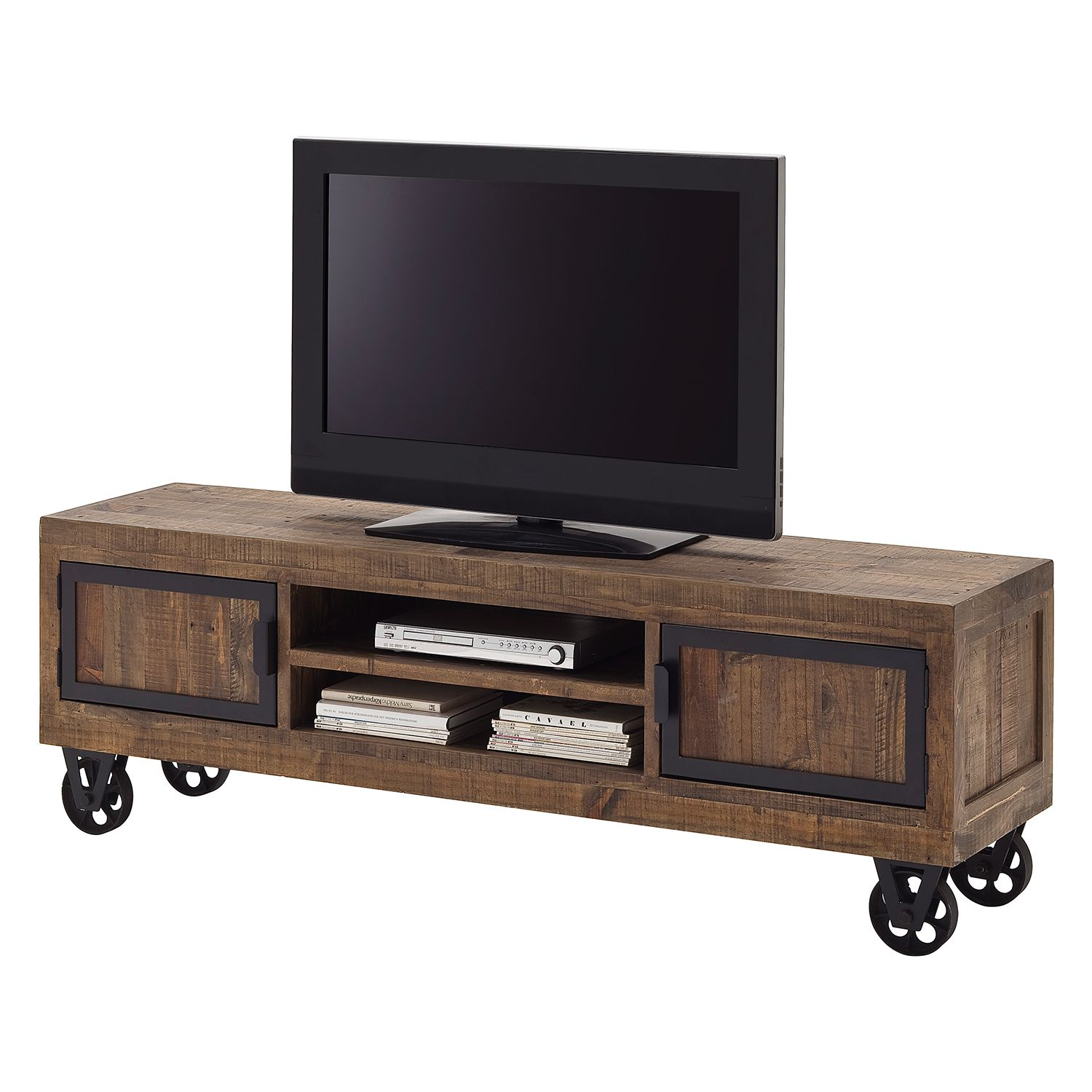 tv lowboard mit rollen preis vergleich 2016. Black Bedroom Furniture Sets. Home Design Ideas