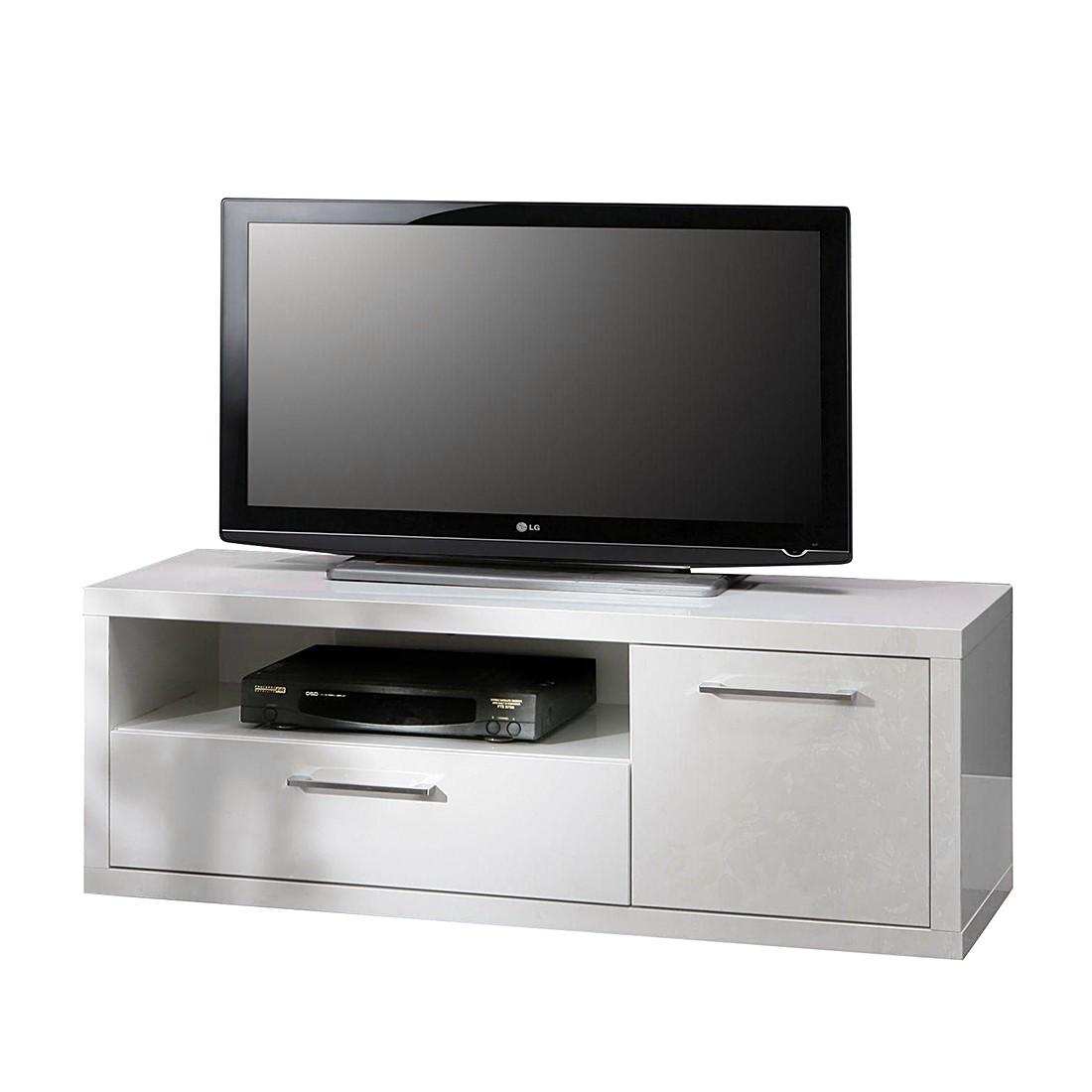 TV-Lowboard Fresno I – Hochglanz Weiß, mooved online kaufen