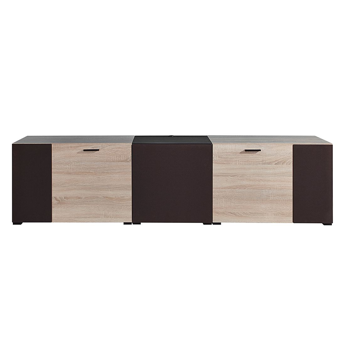 tv lowboard jamiro ii eiche sonoma dekor loftscape online bestellen. Black Bedroom Furniture Sets. Home Design Ideas