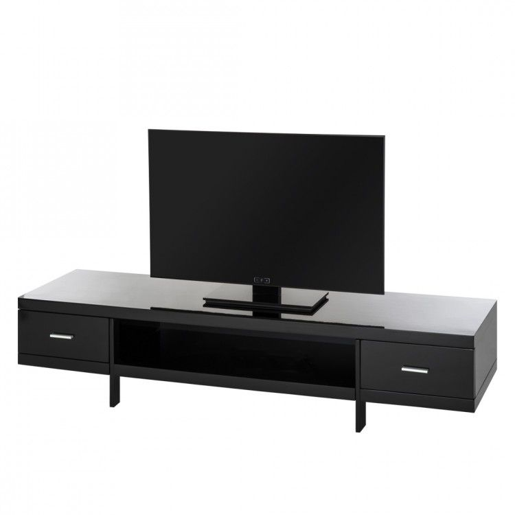 tv lowboard john hochglanz schwarz. Black Bedroom Furniture Sets. Home Design Ideas