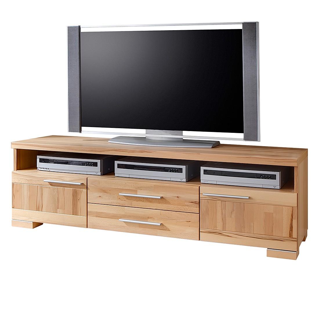 TV-Lowboard Kilian - Kernbuche teilmassiv - Natur, Bellinzona