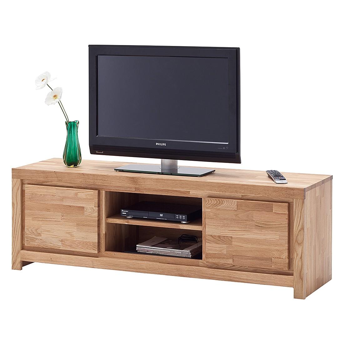 TV-Lowboard Lenvik I – Asteiche massiv, Ars Natura jetzt kaufen