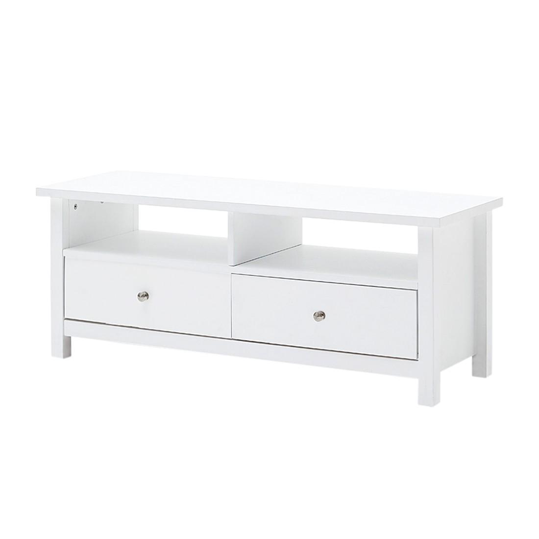 tv lowboard lindbom kiefer teilmassiv wei schrank. Black Bedroom Furniture Sets. Home Design Ideas