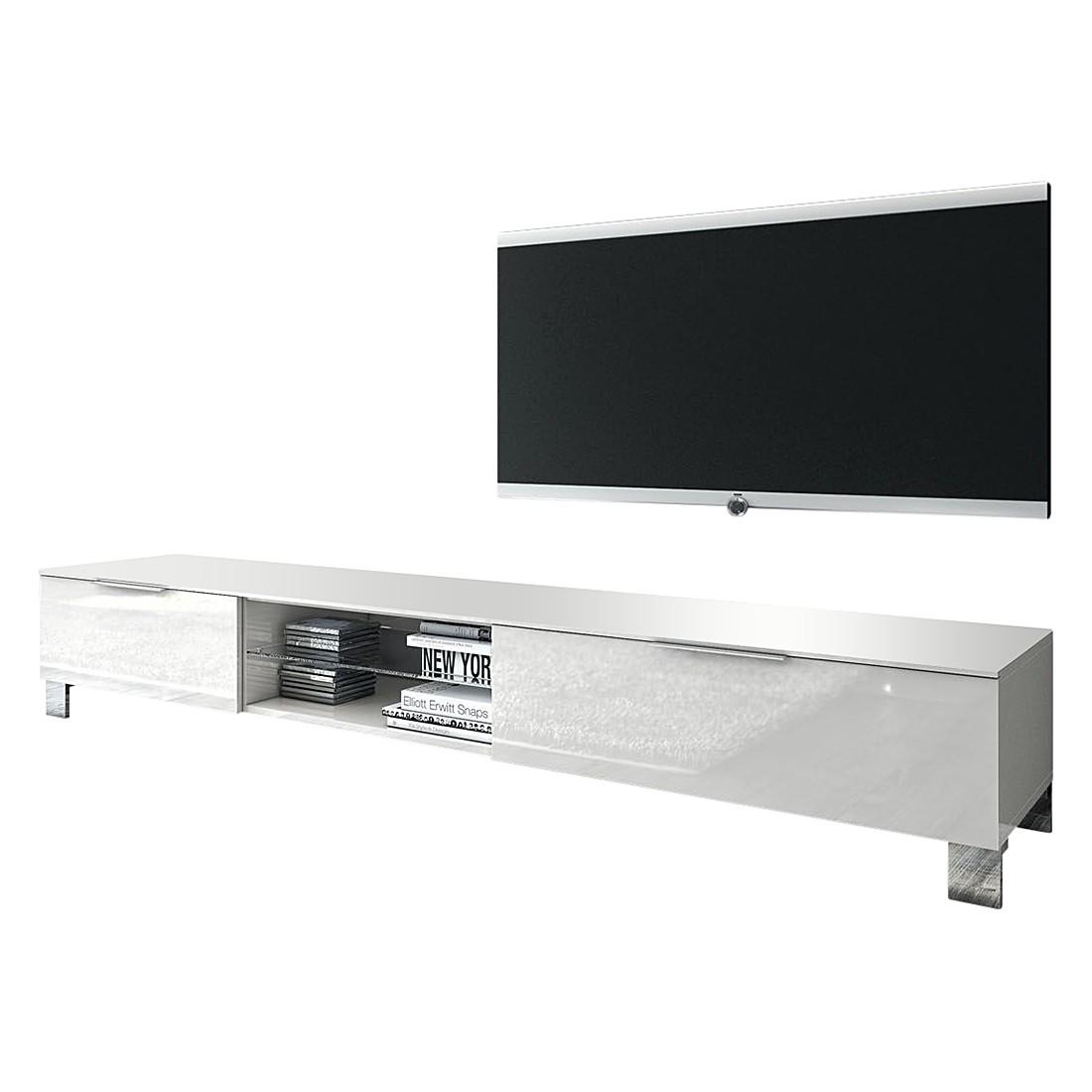 tv lowboard margherita iii hochglanz wei 180 cm lc mobili. Black Bedroom Furniture Sets. Home Design Ideas